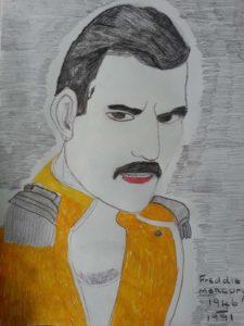 Freddie mercury by ASTRO