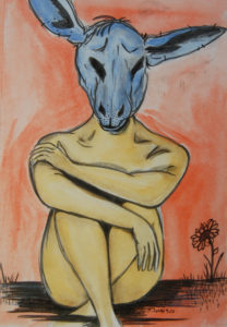 Feeling Blue by David Jones