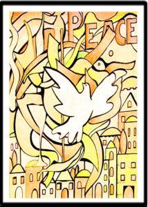 Peace over Jerusalem by Daryl Schiffeldrin