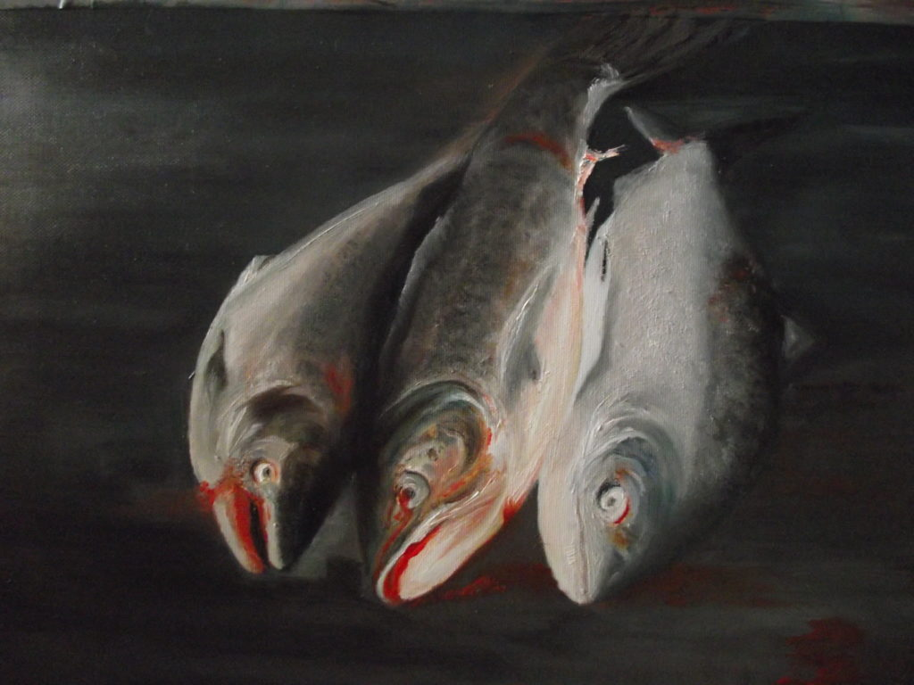 6271 || 2069 || Dad's catch || £250 unframed || 4340