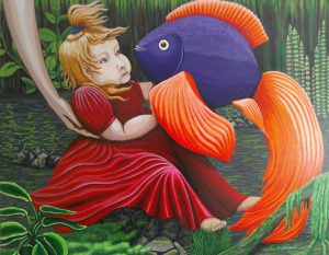 Fish and Babe by Anni Golemienko