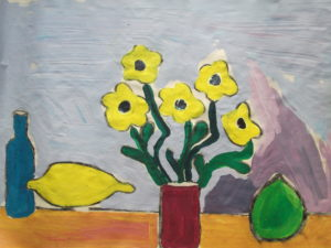 Five Yellow Flowers by Jenny Lewis