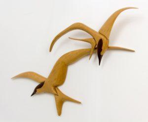 Flying Terns by Rowan
