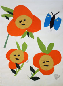 Flower People by Fran Reid