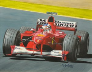 Michael Schumacher by Michael George