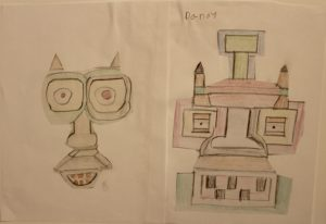 Face of a Fox and Robot by Danny Smith-Nasirpour