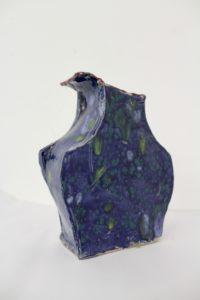 Mottled Pot by Julie Allen