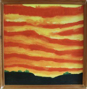 Sunset of the Weald by Tim Bird