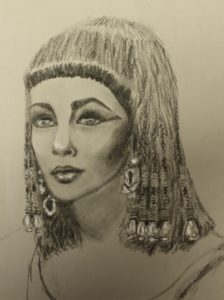 Cleopatra by Liz Talma