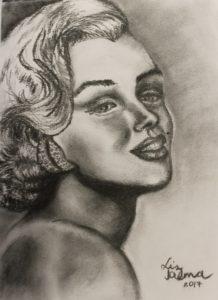 Marylin Manroe by Liz Talma