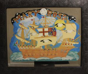 A Mirror image of Mary Rose by Stephen Humphrey