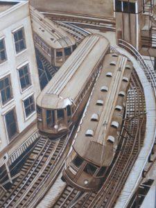 Train Crash by Nade