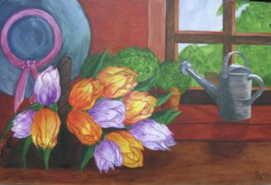 Tulip Harvest by Molly