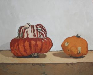 Pumpkins by Golden Sunflower