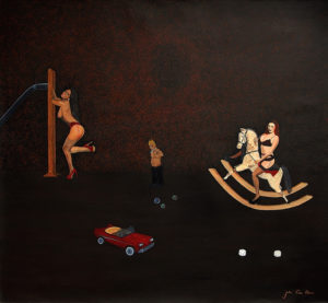 Ideal Big Boys Room by JulioC artist