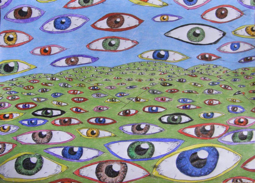 4989 || 1853 || Gaia Is Awake || £20 Print || 3823