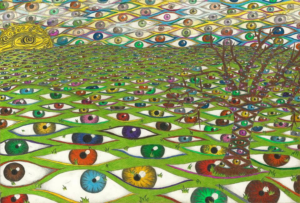 21081 || 1853 || Gaia Is Awake - A shamanic Vision || £80 || 3823