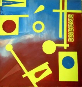 Gallic Abstract by Malcolm Darling