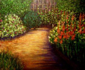 Nina's Garden by Alena