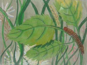 Garden Caterpillar by Ann Appleby