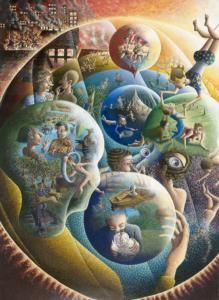 Garden of Mirthly Delights by Alan Kestner