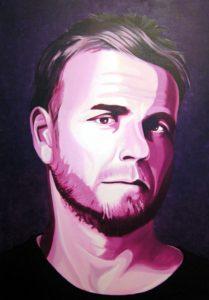 Gary Barlow by john anderson