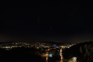 Geminids by Butterfly