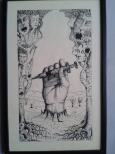 Hand of fate by Robin Wilson