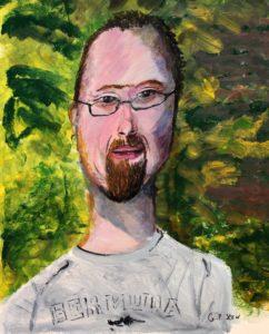 Self Portrait by Geoff Stow