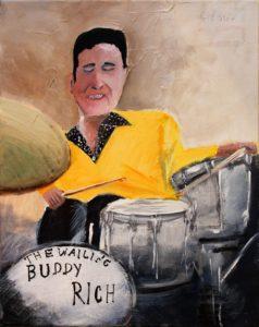 Buddy Rich by Geoff Stow