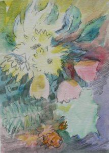Flower-medley by Gill Hayward