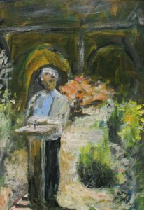 In a Monastery Garden by Gill Hayward