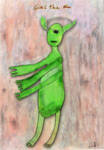 Giles the Alien by Sam Semtex