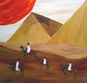 Giza by Edward Henry