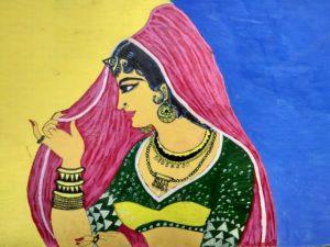 Grambala (Village Girl) by Sandeep Kumar Mishra