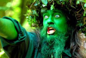GREEN MAN by Photony