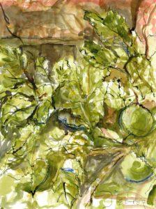 Apple tree by Emma Dunphy