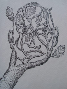 green man by Rose sketch