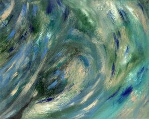 Green Megallanic Cloud by vanessa clark