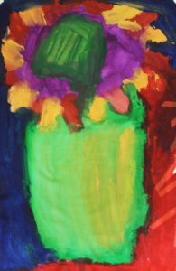 Green Vase by Michael Smith