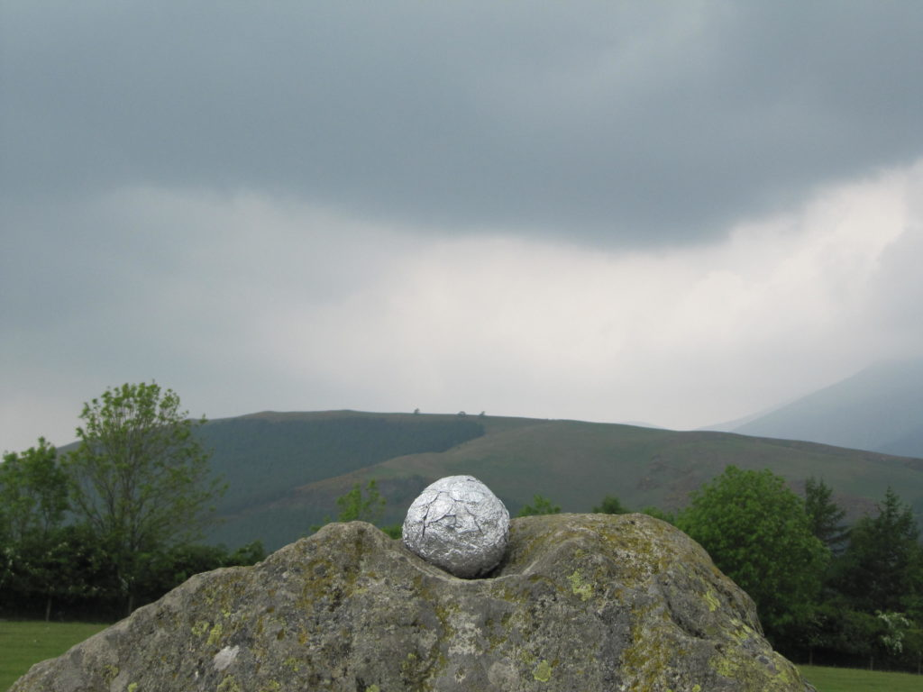 1289 || 1075 || grief ball sculpture at castlerigg stone circle || not for sale -work in progress || 2199