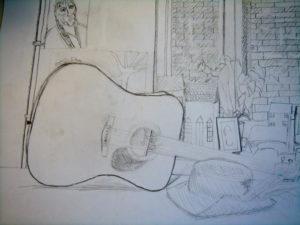 Guitar by Maximillian