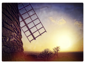 Halnaker Mill by Tony Tomlinson