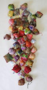 Hanging Squares by Hazel Mavin