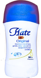 Hate (Part of MA subvert series) by Beth  Davis-Hofbauer
