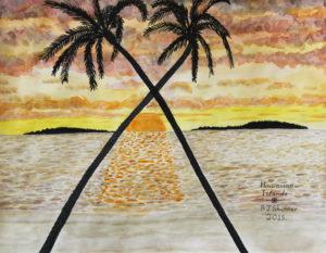 Hawaiian Islands by Barry Skinner