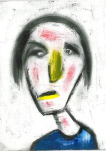 Head II by David Bradley