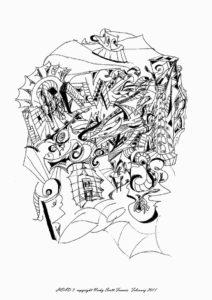 HEAD 3 by Automatic Biro Art