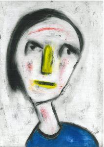 Head VI by David Bradley