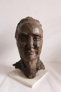 Head of Louise by Julie  Fiera